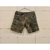 MARBLES VINTAGE CAMOUFLAGE CARGO SHORTS