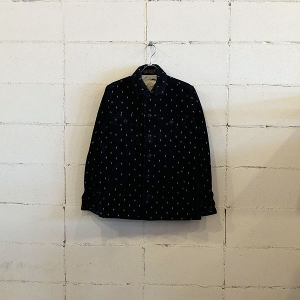 画像1: SEVESKIG REFLECTOR EMBROIDERY COVER SHIRT