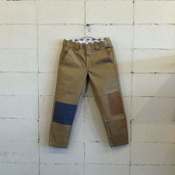 画像1: FDMTL DICKIES PATCHWORK CROPPED PANTS