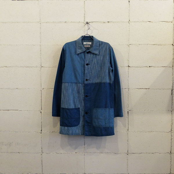 画像1: FDMTL SOUTIEN COLLAR COAT 2YR WASH