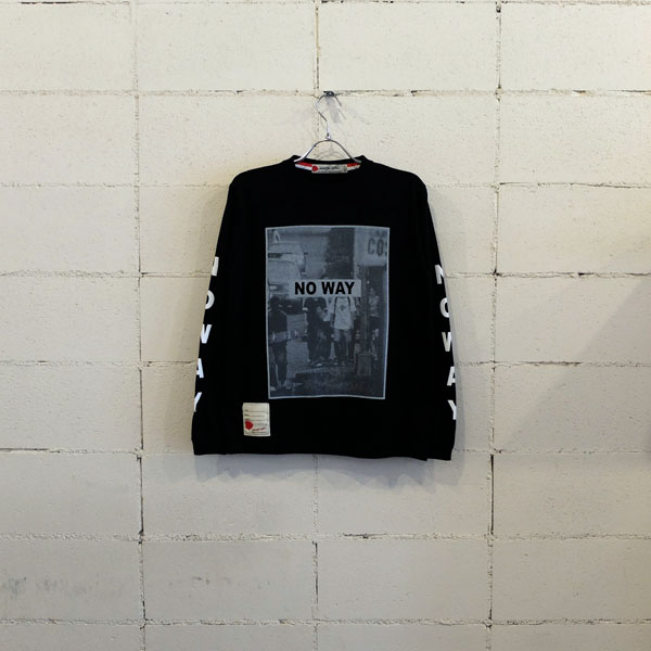 画像1: SEVESKIG LONG SLEEVE T-SHIRT(NO WAY)