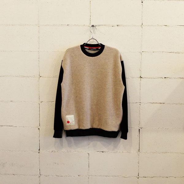 画像1: SEVESKIG GRIZZLY SWEAT SHIRT