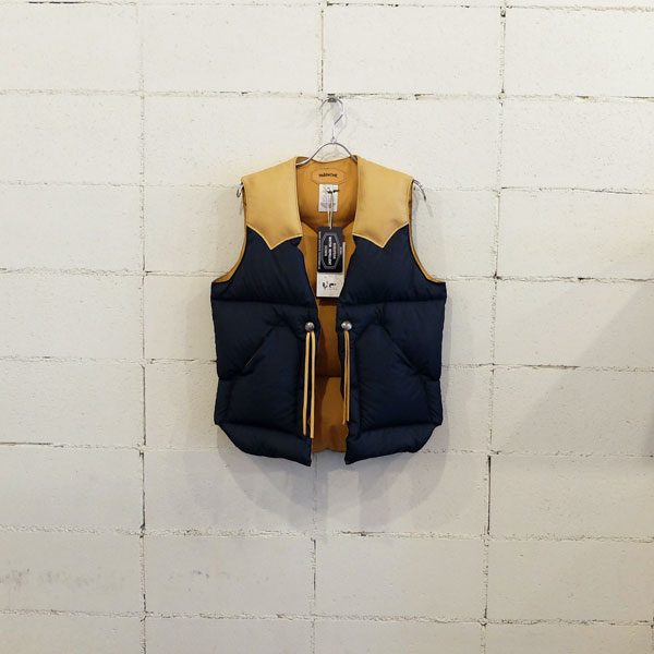 画像1: PIG&ROOSTER DA DOWN VEST BY ROCKY MOUNTAIN