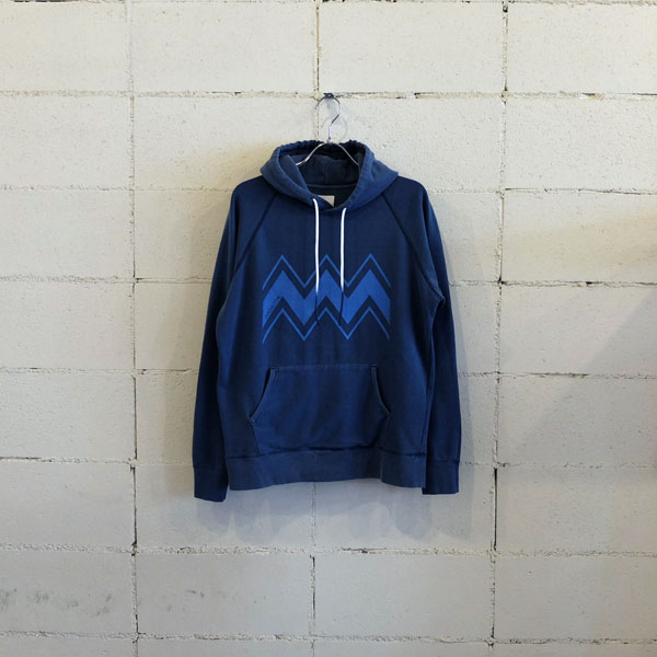 画像1: BLUEY PIGMENT DIED SWEAT PARKA