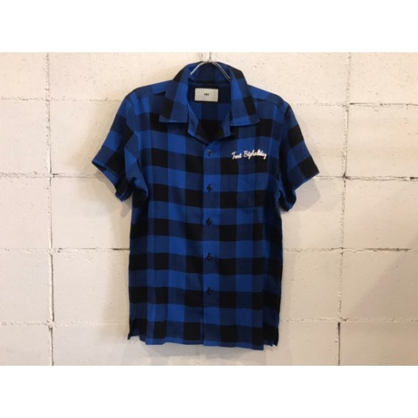 画像1: TMT ORIGINAL RAYON BUFFALO CHECK SHIRTS