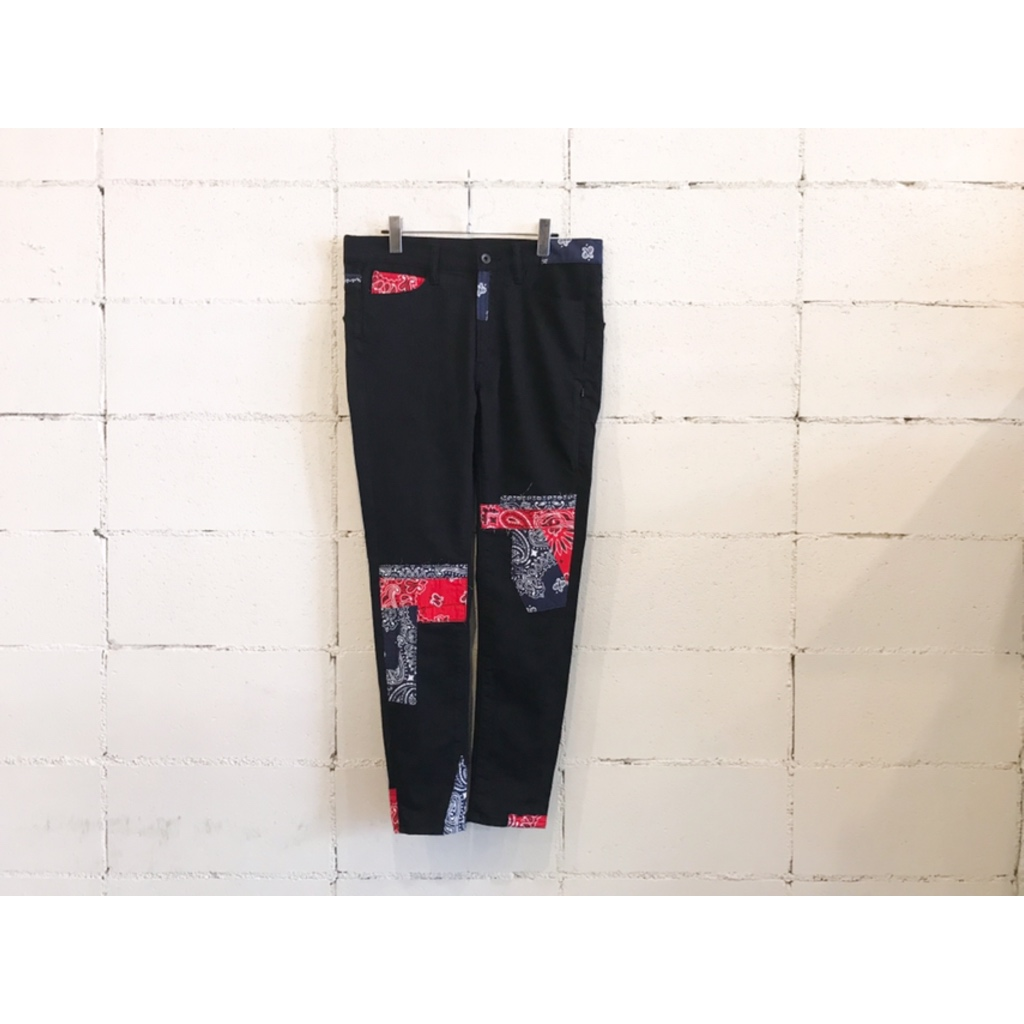 画像1: SEVESKIG EXTRA STRETCH SKINNY PANTS