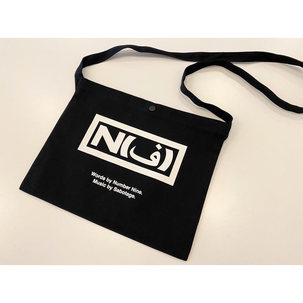 画像1: NUMBER (N)INE SABOTAGE_SHOULDER BAG #1